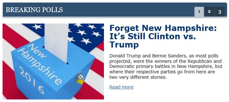 """Forget New Hampshire: It's Still Clinton vs. Trump"" 