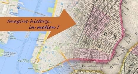 Mapas sencillos y geniales con History in Motion   Historia. Ciencias sociales   Scoop.it