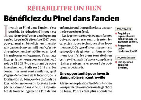 Réhabiliter un bien en Pinel ancien | Actu investissement immobilier | Scoop.it