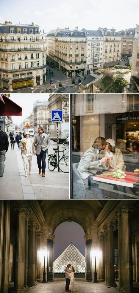An Intimate Parisian Elopement | Travel | Scoop.it
