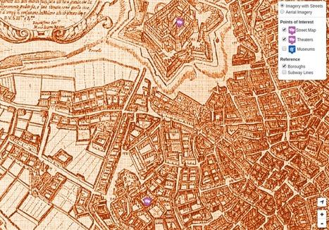 Mappa storica antica Milano » Idee e progetti | mappe storiche | Scoop.it