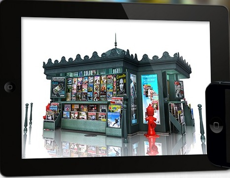 Les kiosques numériques veulent profiter de l'été pour augmenter leurs ventes   DocPresseESJ   Scoop.it
