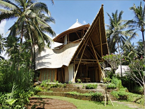 Ibuku Constructs Three BAMBOO Homes in Bali's Gorgeous Green Village | The Architecture of the City | Scoop.it