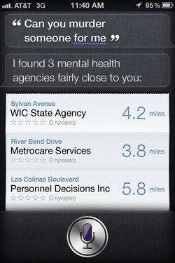The 16 strangest things Siri has said so far. | An Eye on New Media | Scoop.it