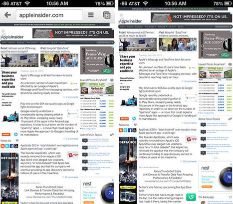 Google updates Chrome iOS app with wireless printing and fullscreen viewing, Search gets bug fixes | DigitalWorld | Scoop.it