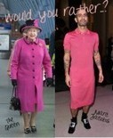 Would You Rather…? Queen Elizabeth Vs. Queen of Fashion Marc Jacobs in Pink Frocks | COMME des | Scoop.it