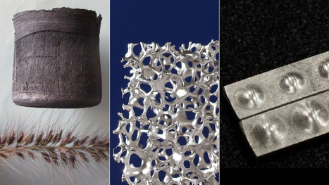 5 Crazy New Man-Made Materials That Will Shape the Future | Glimpse into the Future | Scoop.it