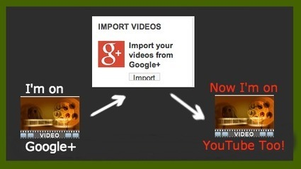 How To Import a Google+ Video into YouTube | Sosiaalinen Media | Scoop.it