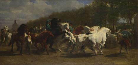 Rosa Bonheur and Nathalie Micas | The Horse Fair | NG621 | The National Gallery, London | Form 5 Art Syllabus | Scoop.it