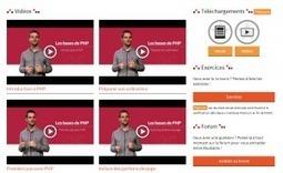 Le fonctionnement des cours sur OpenClassrooms évolue ! | Ingénierie pédagogique, formation à distance, réseaux sociaux, innovations web | Scoop.it