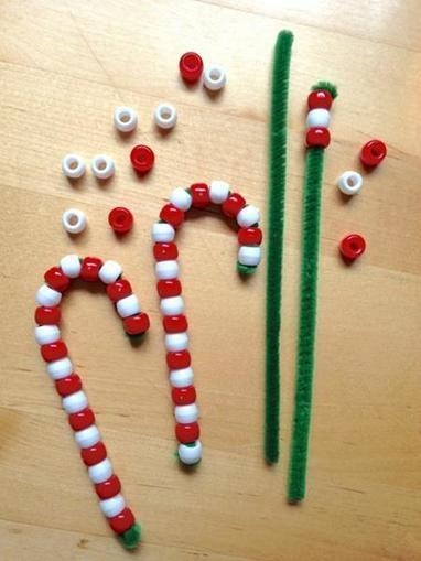 Pipe Cleaner Candy Canes | Craftspo | Scoop.it