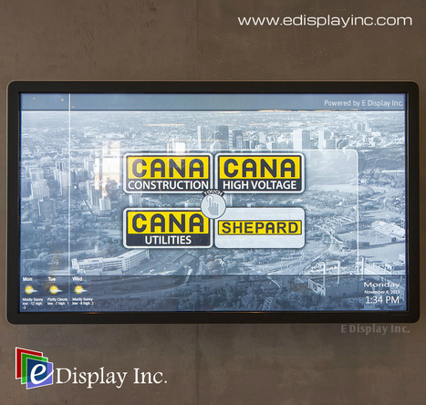 Interactive Touch Screens- The need and its Impact : A Case Study of CANA Construction | SignageWorld | Scoop.it