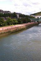 Le Blog de Rouen, photo et vidéo: Marée basse, sous les quais la plage   MaisonNet   Scoop.it