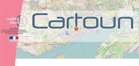 Cartoun, cartographie des pratiques pédagogiques avec le numérique - Éduscol   Usages numériques et Histoire Géographie   Scoop.it
