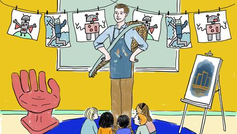 A Great Teacher, Illustrated | Réflexions techno-pédagogiques | Scoop.it