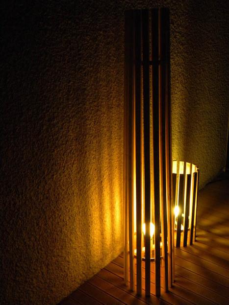 Wood'insane, meubles et luminaires, le design écologique de Renaud Dancie | Ellipses dans la chambre - déco intérieur | Scoop.it