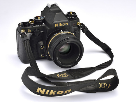 Nikon Japan Announces a Limited Edition, Gold-Adorned Version of the Black Nikon Df   xposing world of Photography & Design   Scoop.it