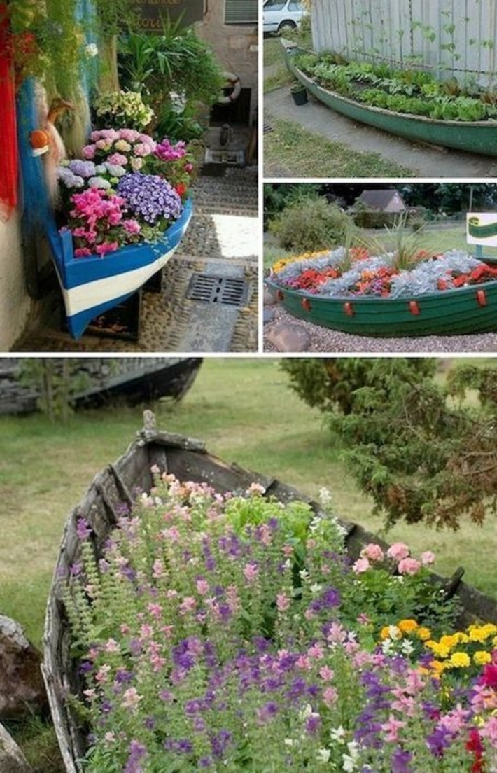24 Creative Garden Container Ideas (with pictures)   Container Gardening   Scoop.it