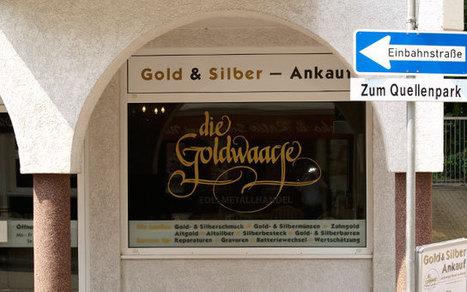 Goldankauf Frankfurt - Die Goldwaage Bad Soden Gold & Silber verkaufen | Gold Verkaufen | Scoop.it