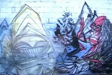Crystals of the Colossus: Storytelling Through Graffiti | Story and Narrative | Scoop.it