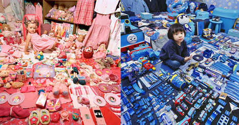 The Pink and Blue Projects: Exploring the Genderization of Color | UnGender Pink | Scoop.it