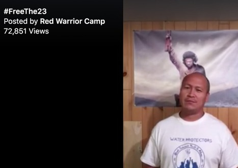 Red Warrior Camp: Sheriff Show of Force - Riot Gear - Semi Automatic Weapons - 23 Arrests - No Lawyers allowed to see clients - TAKE ACTION | SocialAction2014 | Scoop.it
