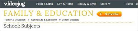 School: Subjects | Video sites for School | Scoop.it