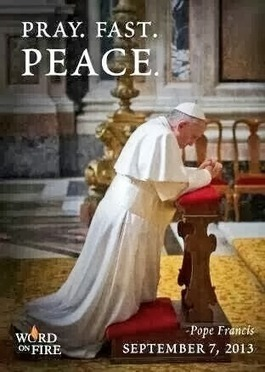 "#prayforpeace .@pontifex ""Let us work for reconciliation and peace. Let us live…"" 