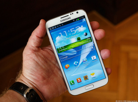 Phablets not big threat to smartphones, tablets yet | ZDNet | New Digital Media | Scoop.it