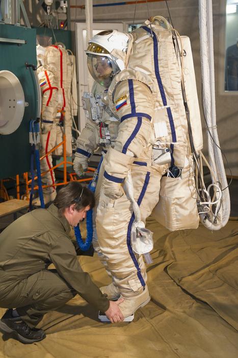 Les cosmonautes de Soyouz TMA-06M testent l'atterrissage sur Mars ! | Space matters | Scoop.it