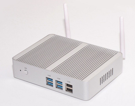 Partaker B4 Intel Celeron N3150 Barebone mini PC Sells for $131 | Embedded Systems News | Scoop.it