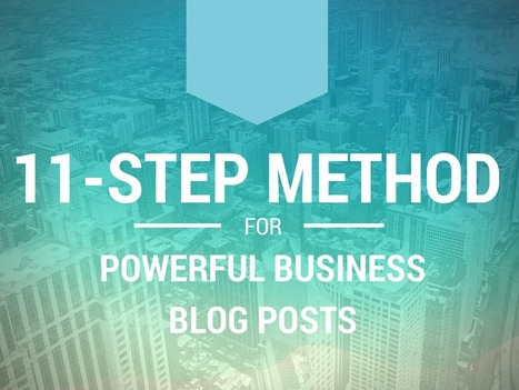 How to Write Powerful Business Blog Posts | Content Marketing | Scoop.it