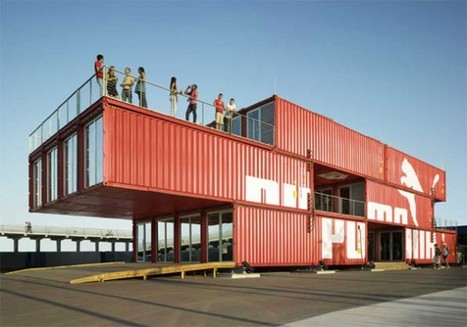 NYC Plans On Designer Shipping Containers for Next Disaster | Innovative Design in Commercial Real Estate | Scoop.it