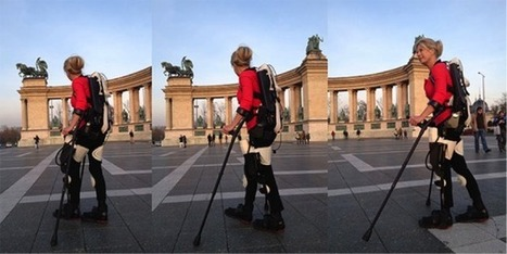 3D-printed exoskeleton helps paralyzed skier walk again | Makers | Scoop.it