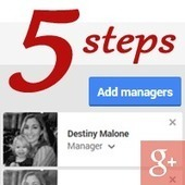 Google+ Page - 5 Steps To Add Manager - How To Add, Remove Admins On Google Plus | Twitter is a party...Social Media fun | Scoop.it