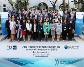 OECD holds regional meeting of the Inclusive Framework on BEPS for the Asia-Pacific region - OECD | International Tax | Scoop.it