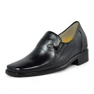 Hot sale height increase formal leather shoes 7cm/2.75inch taller on Sale for cheap wholesale at Topoutshoes.com   Mens Slip-on Shoes   Scoop.it