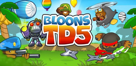 Bloons TD 5 v2.3.1 APK For Android Free Download ~ MU Android APK | birds | Scoop.it