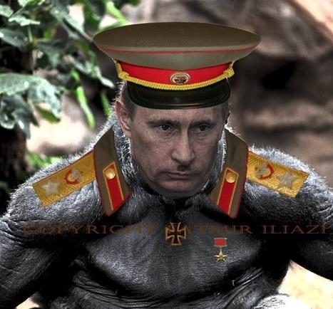 Linguistic glob: Nazi Communist Vladimir Puttin propaganda | Propaganda | Scoop.it