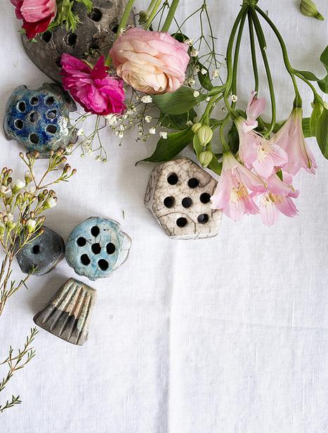 Ceramics & Flowers: Flower Frogs  · Happy Interior Blog | Interior Design & Decoration | Scoop.it