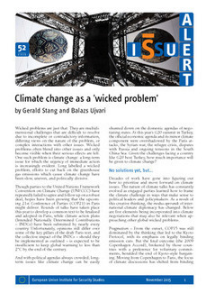 Climate change as a 'wicked problem' | Wicked problems and Complexity | Scoop.it