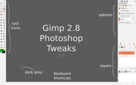 Gimp - Donnez lui un air de Photoshop - Korben   Actualités de l'open source   Scoop.it