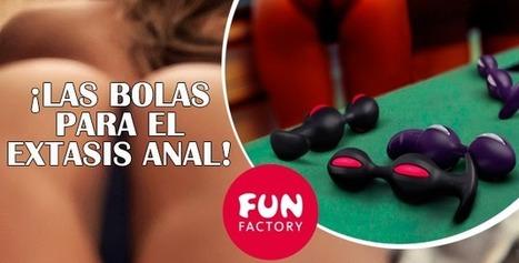 Las B-Balls de Fun Factory ¡El Plug Anal que vibra a cada movimiento! | Sexualidad | Scoop.it