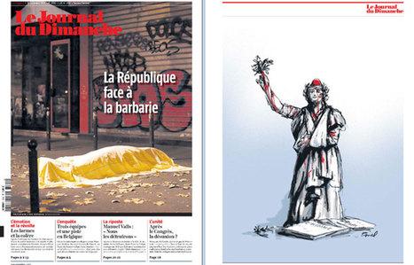 La République blessée et la victime inconnue : le JDD explique sa une - leJDD.fr | Emi Journalisme | Scoop.it