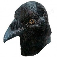 Latex Animal Masks : Animal Overhead Mask - Crow ( Latex ) | Quality Party Wigs - Masquerade-Carnival.co.uk | Scoop.it