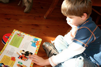 Literacy, families and learning: Getting Boys Excited About Reading: Ideas & Resources | School Library Digest | Scoop.it