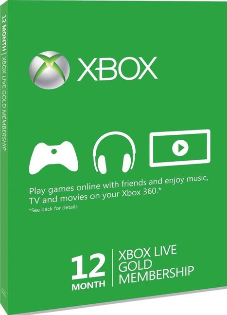 Microsoft Xbox 360 LIVE Gold 12 Month Membership | Microsoft Xbox 360 LIVE | Scoop.it