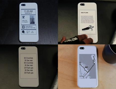 8bitfuture: Smartphone case adds second screen... | TV of the Future | Scoop.it