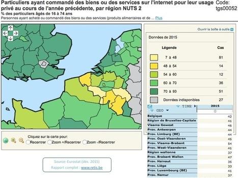 L'e-commerce en Belgique: statistiques - RETIS   Cours e-commerce   Scoop.it