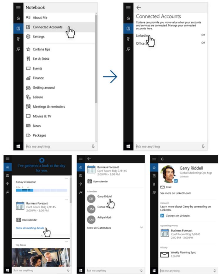 LinkedIn integrates with Cortana in Windows 10 - LinkedIn | The Marketing Technology Alert | Scoop.it